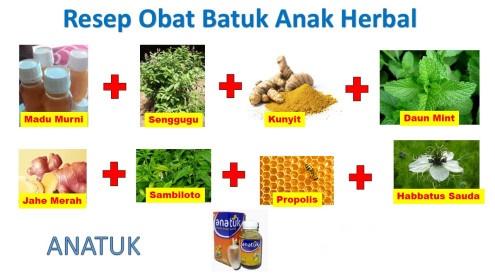 Resep Obat Batuk Herbal Untuk Anak Yang aman dan Terbukti Manjur