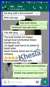 Testimoni Grosir Obat Herbal batuk Anak Di Bogor